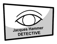 Jackques Hammer business card