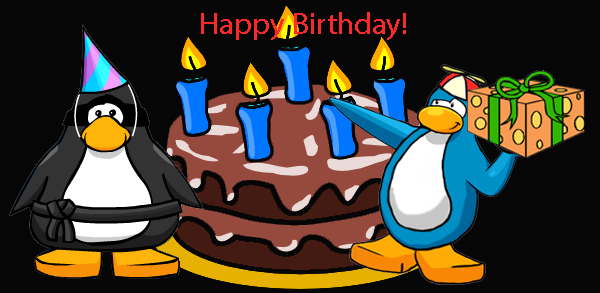image  birthday card  club penguin wiki  fandom powered by, Birthday card