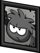 Black Puffle Picture sprite 003