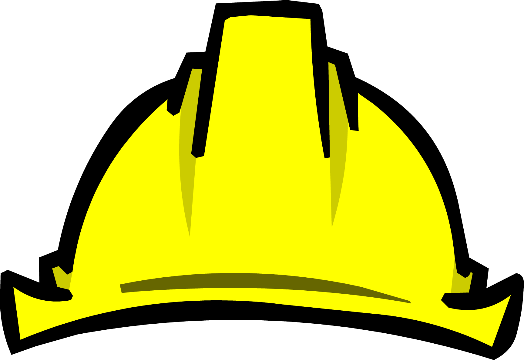 Image result for yellow mining hat club penguin