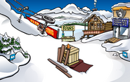 Medieval Party 2011 construction Ski Village