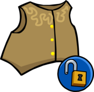 Cowboy Vest clothing icon ID 10217