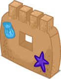 Sand Castle Wall sprite 002
