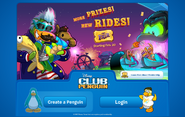 The Fair 2014 login screen