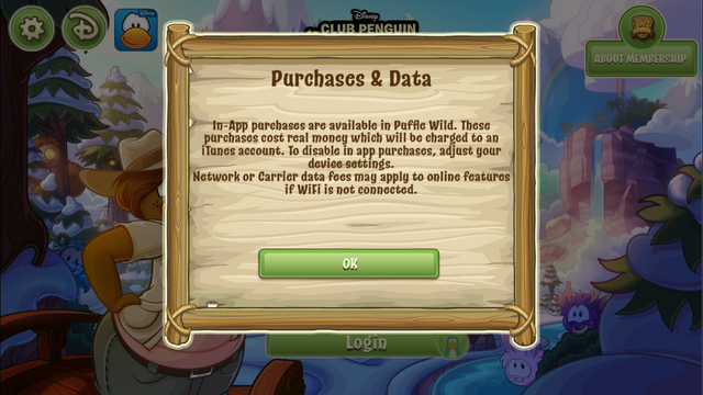 File:Puffle Wild first login notification.PNG