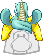 Unicorn Puffle Cap icon