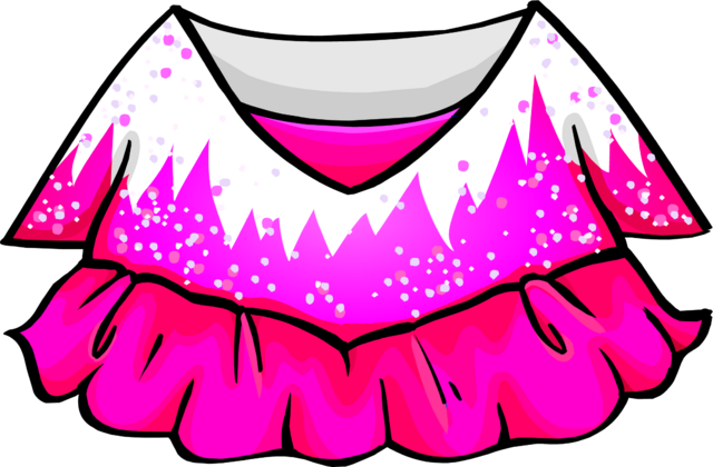 File:Pink Figure Skating Dress.PNG