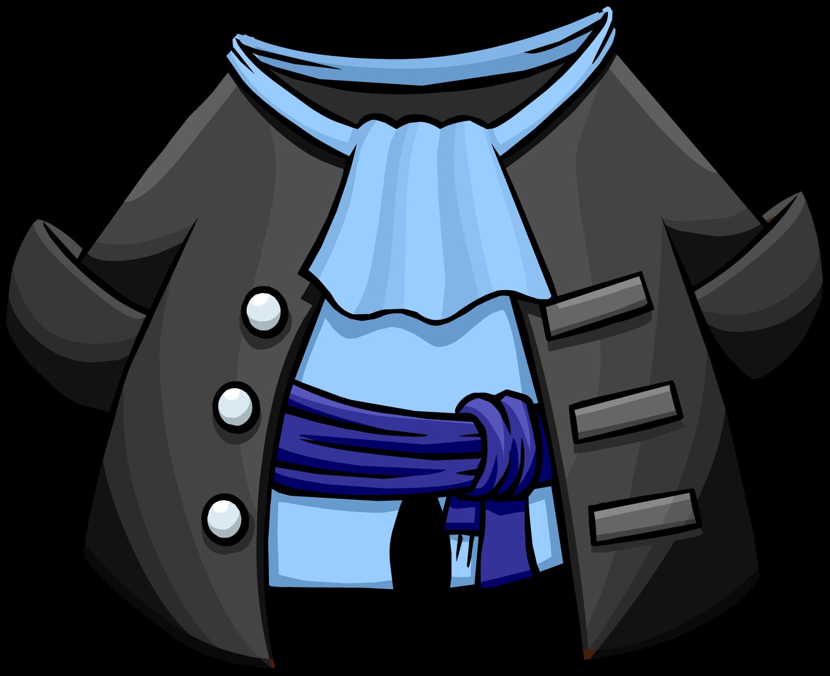 Gray Pirate Coat Club Penguin Wiki Fandom Powered By Wikia