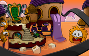 April Fools' Party 2012 Orange Puffle Dimension