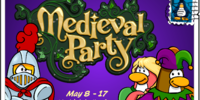 Medieval Party postcard (ID 174)