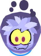Ghost Puffle Costume In-Game