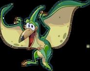 GreenPteranodon