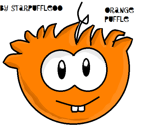 File:Orange Puffle Club Penguin Picture xxx.png
