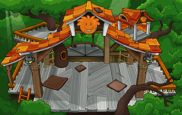 File:Orange Puffle Tree House sprite.png