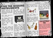 Instrument Hunt newspaper article