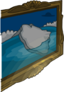 Lodge Attic Iceberg Painting