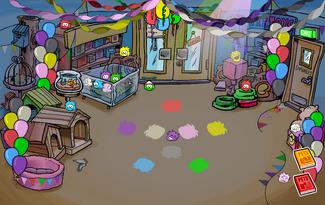 Puffle Party 2010 Pet Shop