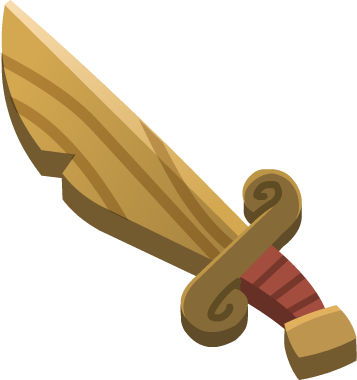 Emoji Wooden Sword