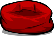 Red Beanbag Chair sprite 001