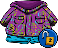 Purple Whirl Snowsuit unlockable icon
