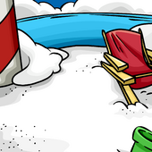 Beach Chairs Background