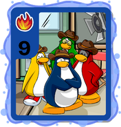 Penguin Band card