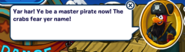 Rockhopper Dialogue - Master Pirate (200+ Pirate Party coins)