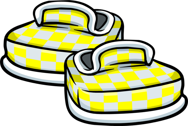 File:Yellow Checkered Shoes icon.png