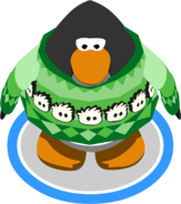 Holiday Puffle Story in-game
