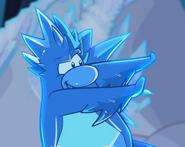 Frost bite penguin