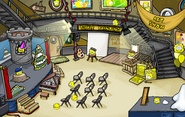 Puffle Party 2009 Lighthouse