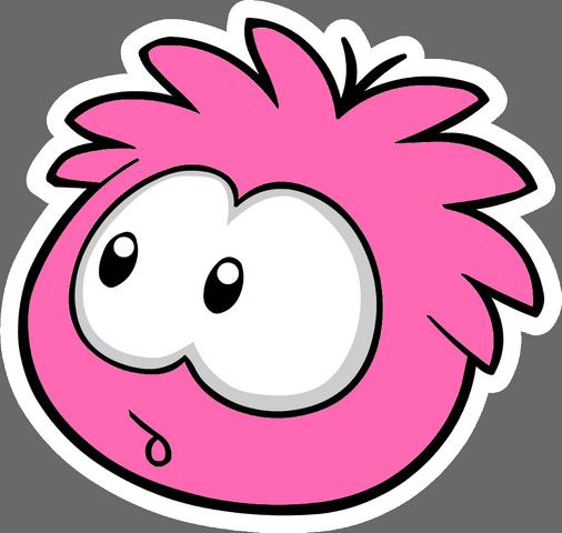 File:Hot pink puffle stamp pin.png
