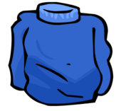 Blue Turtleneck clothing icon ID 229
