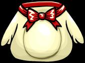 White cocoa bunny costume