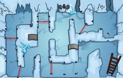 Great Snow Race Laser Maze 2