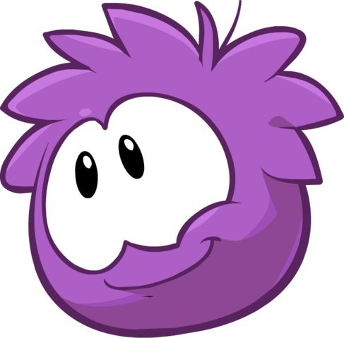 File:Purple Puffle32 New Design.png