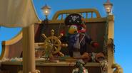 Rockhopper Talking to Merry on Ship