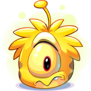 Yellow Alien Puffle adoption