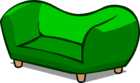 Green Couch sprite 002