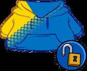 Blue Blend Hoodie clothing icon ID 14969