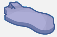Holiday party Map Icon Iceburg