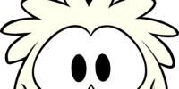 White Puffle Costume