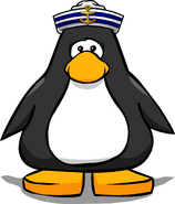 Crew Cap from a Player Card