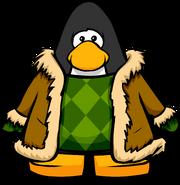 Green Suede Jacket445566