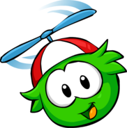 Green PuffleFlying2