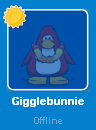 Gigglebunnie on the Buddy List