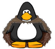 Thick Hide Cloak from a Player Card