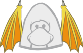 Yellow Monster Wings clothing icon ID 3168