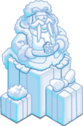 Merry Walrus Snow Sculpture sprite 002