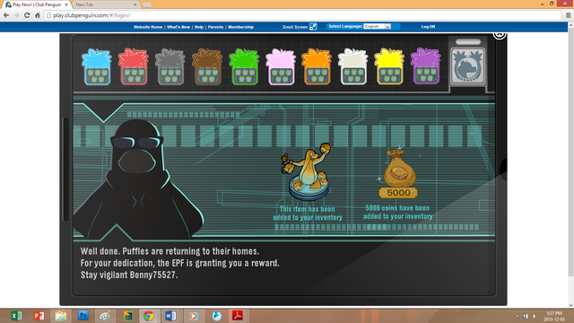 File:Club Penguin—Operation; Puffle—Full Completion—Benny75527.png